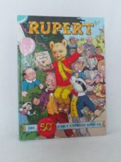 Adorable 'Rupert' The 50th Anniversary Daily Express Hardback Annual